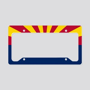 ARIZONA STATE FLAG License Plate Holder