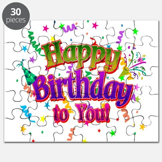 Happy Birthday To You Puzzle