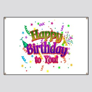 Happy Birthday To You Banner
