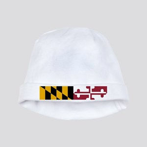 Maryland State Flag baby hat