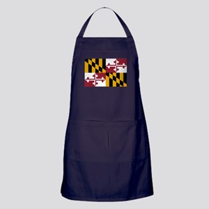 Maryland State Flag Apron (dark)