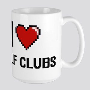 I love Golf Clubs Mugs