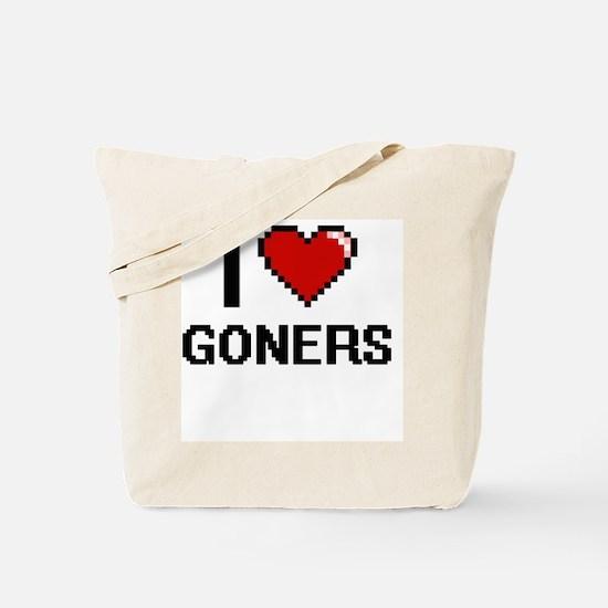I love Goners Tote Bag