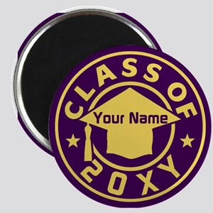 Class of 20XX Graduation Magnet