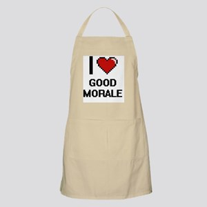 I love Good Morale Apron