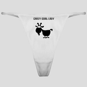 Crazy Goat Lady Classic Thong