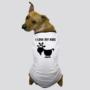 Love Goat Kids Dog T-Shirt
