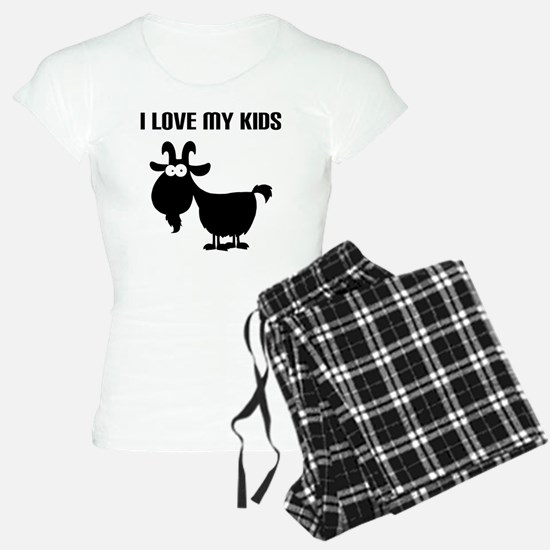 Love Goat Kids Pajamas