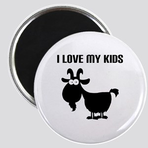 Love Goat Kids Magnet