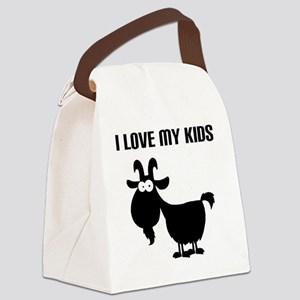 Love Goat Kids Canvas Lunch Bag