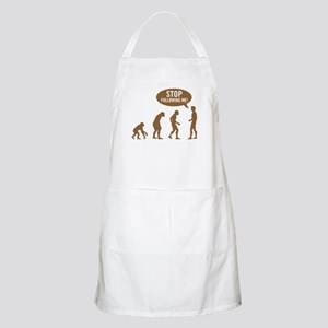 Evolution is following me BBQ Apron