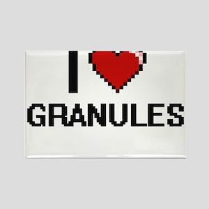 I love Granules Magnets