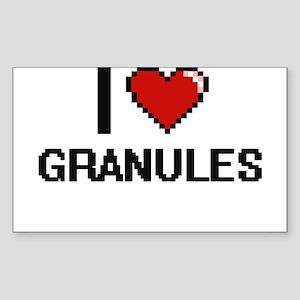 I love Granules Sticker