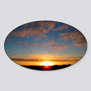 Over The Horizon Sticker (Oval)