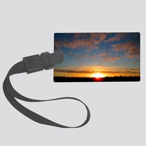 Over The Horizon Large Luggage Tag
