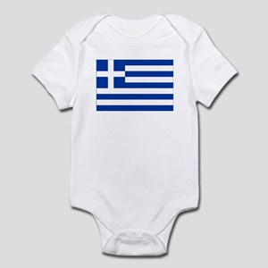 Greece Flag Body Suit