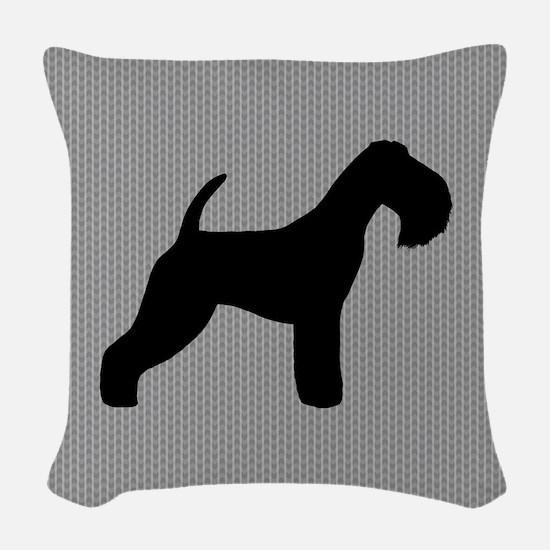 Lakeland Terrier Woven Throw Pillow