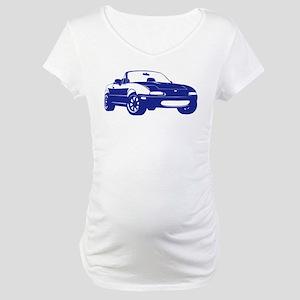 NA Blue Maternity T-Shirt
