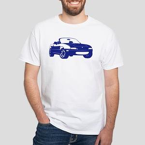 NA Blue White T-Shirt