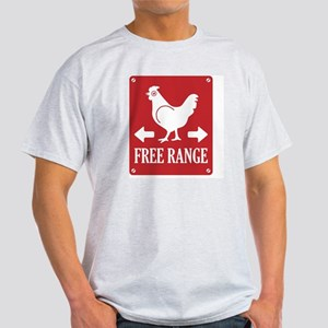 Free Range Label Light T-Shirt