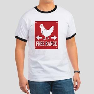Free Range Label Ringer T
