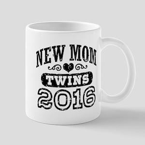 New Mom Twins 2016 Mug