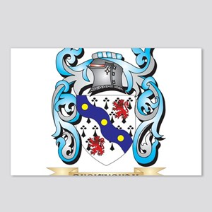 Buckingham Coat of Arms - Postcards (Package of 8)