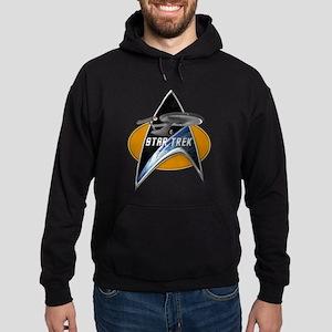 StarTrek Enterprise 1701 Command Signia Chest Hood