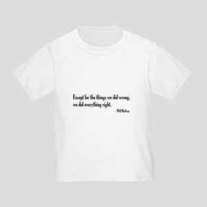 Will McAvoy Newsroom Quote T-Shirt