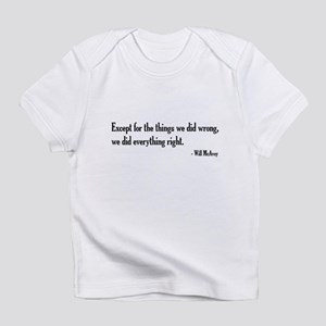 Will McAvoy Newsroom Quote Infant T-Shirt
