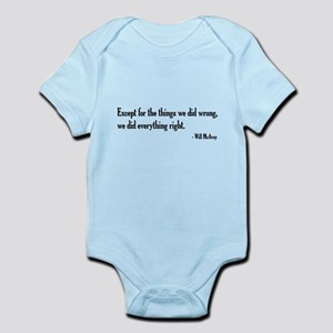 Will McAvoy Newsroom Quote Body Suit