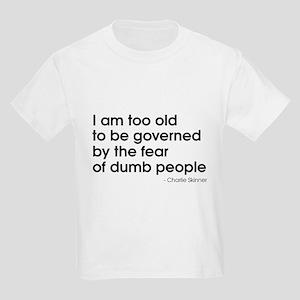 Dumb People (The Newsroom) Kids Light T-Shirt