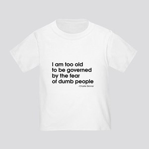 Dumb People (The Newsroom) Toddler T-Shirt