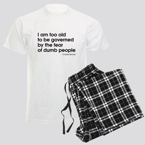 Dumb People (The Newsroom) Men's Light Pajamas