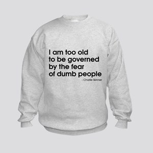 Dumb People (The Newsroom) Kids Sweatshirt