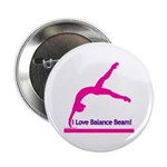 Gymnastics Buttons (10) - Beam