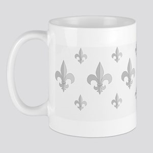 Fleur De Lis Pattern Mug