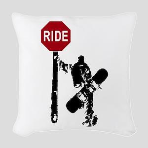 RIDE Woven Throw Pillow