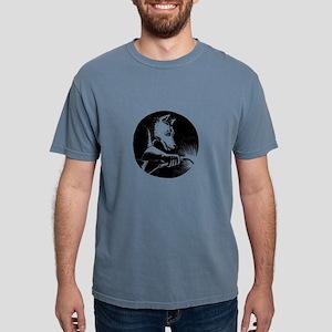 Dingo Dog Welder Scratchboard T-Shirt