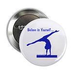 Gymnastics Buttons (10) - Believe