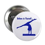 Gymnastics Buttons (100) - Believe