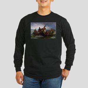 Washington Crossing the Delawa Long Sleeve T-Shirt