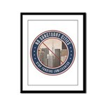 No Sanctuary Cities Framed Panel Print