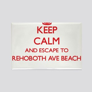Keep calm and escape to Rehoboth Ave Beach Magnets