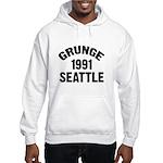 SEATTLE 1991 GRUNGE Hooded Sweatshirt