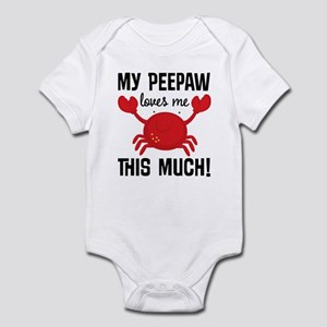 My Peepaw Loves Me Infant Bodysuit