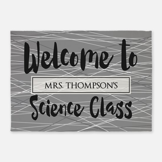 Gifts for Science Teacher Personali 5'x7'Area Rug