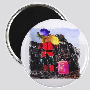 """Mountain Climber Moose 2.25"""" Magnet (10 pack)"""