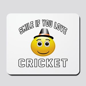 Cricket Cool Designs Mousepad