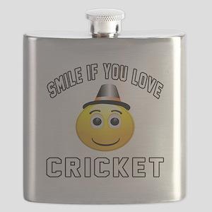 Cricket Cool Designs Flask